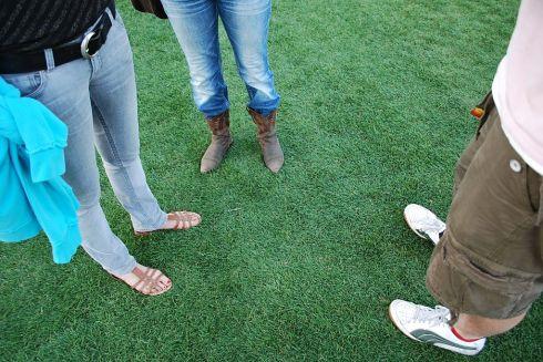 Coachella green grass