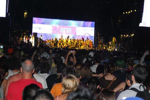 MIA stage invasion